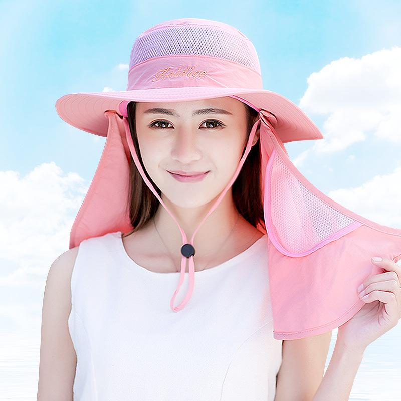 Lady Sun Hats For Women Cotton Summer Girls Visors Caps Outdoor Bucket  Cycling Hats Womens Hats Hats For Women From Ancient88 61cc2eac084c