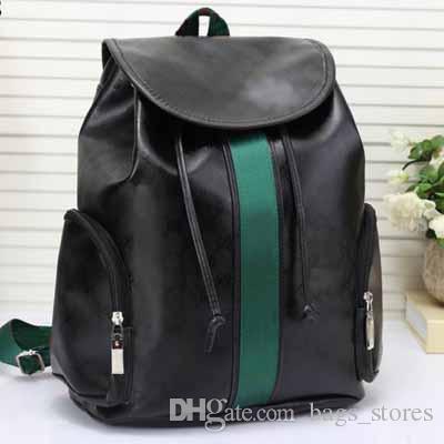 82f65b2c4 Fashion Leather Designer Backpack Women Classic Bags New Brand Back Pack  Bag Backpacks Ladies Blue Black Brown G664 Online Sale Camo Backpack Batman  ...