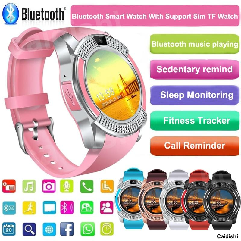 2018 new smart watch support SIM TF card with Bluetooth 3.0 men's and women's business smart watch for IOS Android