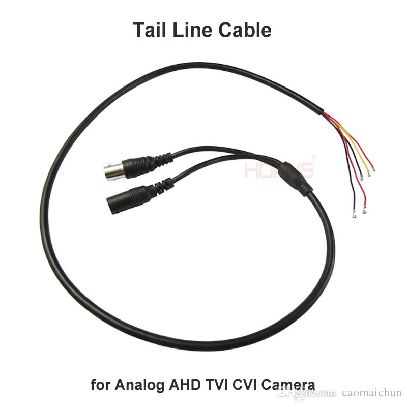 2018 cctv cable accessories for ahd tvi cvi analog coaxial security rh dhgate com Security Camera Connections Wired Security Camera System