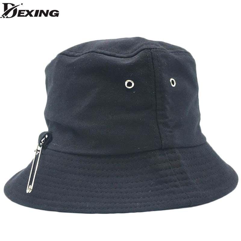40cfd196de8 2019 2018 BTS SUGA Fashion KPOP Iron Ring Bucket Hats Popular Style Caps  100% Handmade Iron Rings Big Pin Panama Caps From Sport2017, $20.09    DHgate.Com