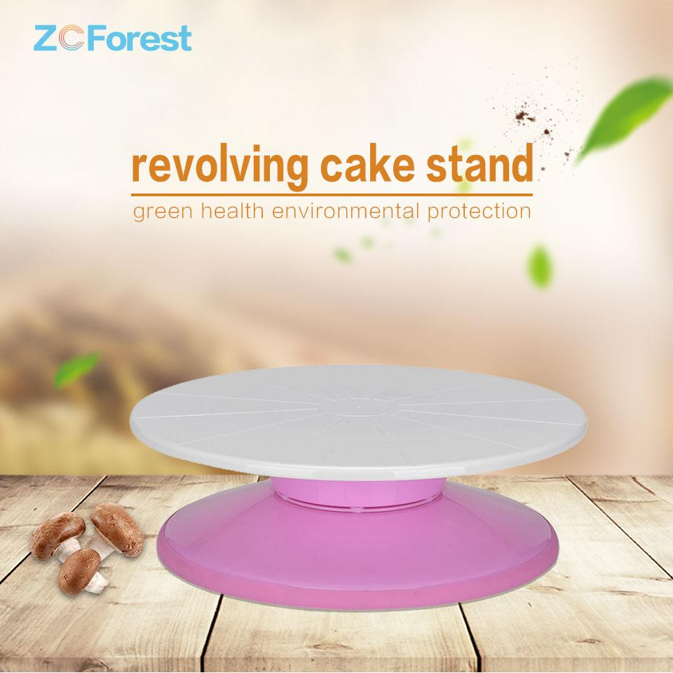 2018 Decorating Turntables Rotating Cake Stand Sugar Craft Turntable
