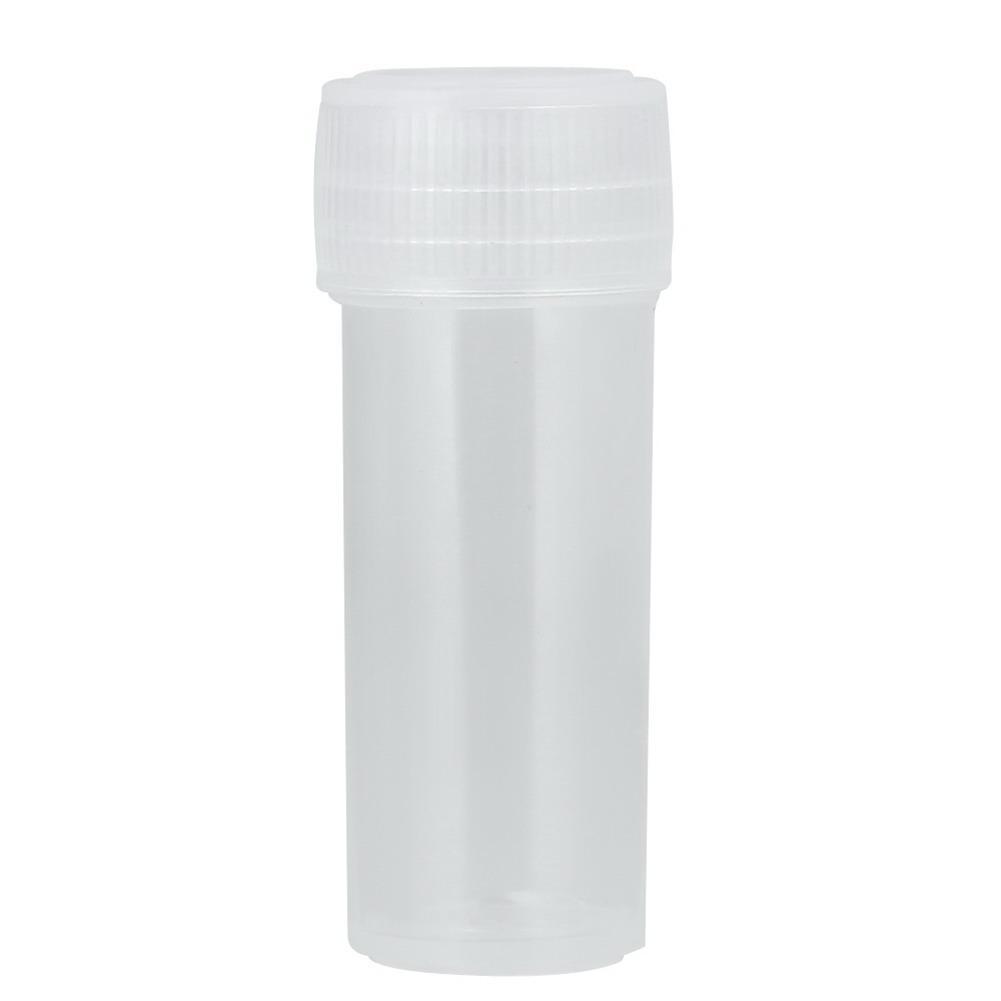 50 قطع 5 ملليلتر عينة بلاستيكية واضحة زجاجة حجم جرة فارغة التجميل حاويات تخزين صغير يحتوي زجاجة اكسسوارات المطبخ