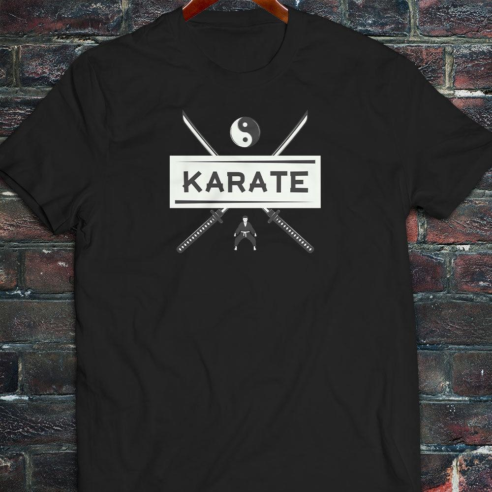 373308aed34 Karate Swords Samurai MMA Martial Arts Black Belt Mens Black T Shirt Nerd T  Shirts Design Shirt From Funnytees45