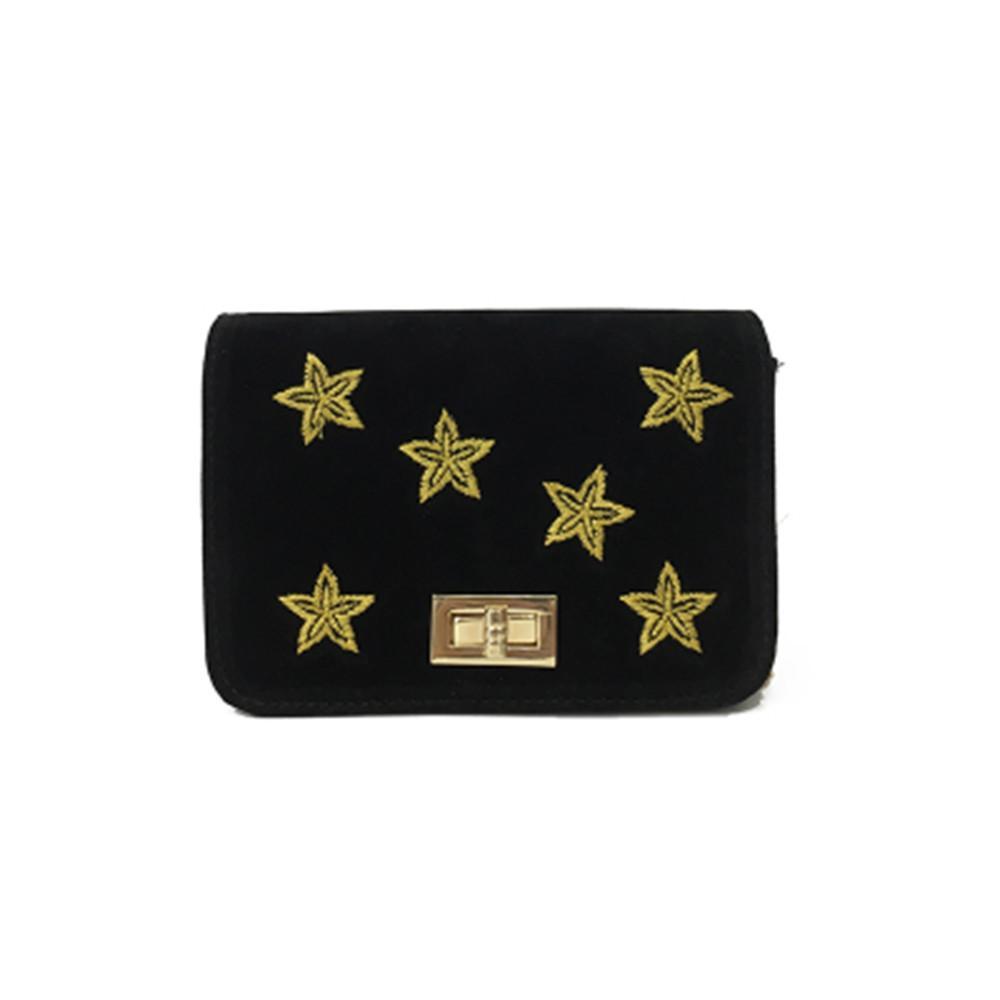 fb70e5b6 Women'S Fashion Velour Star Printing Handbag Ladies Crossbody New Shoulder Bags  Mini Crossbody Bolsos Mujer De Marca Famosa #75 Travel Purse Branded ...