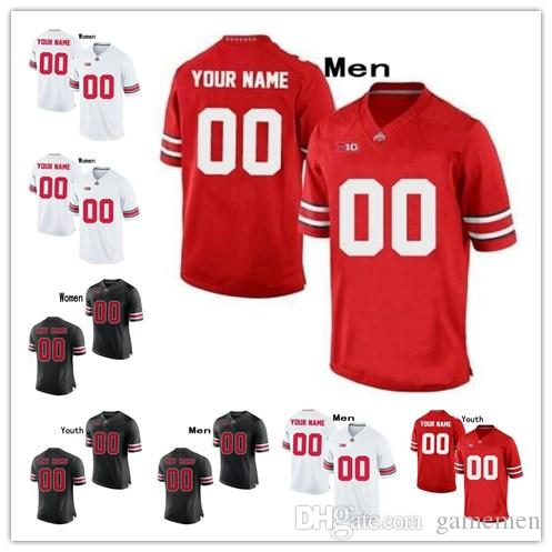 purchase cheap 37807 17b23 Custom OSU Ohio State Buckeyes Stitched Any Name Any Number mens women  youth 7 Dwayne Haskins Jr.College Basketball kids Jersey