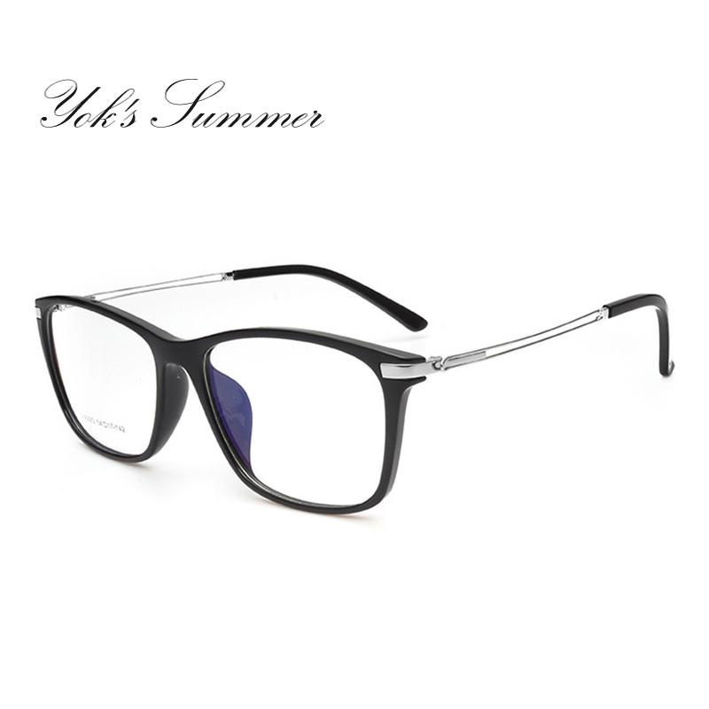 b7d46b7a19a Yok s Summer Big Square Computer Clear Eyeglass Women Men Anti ...