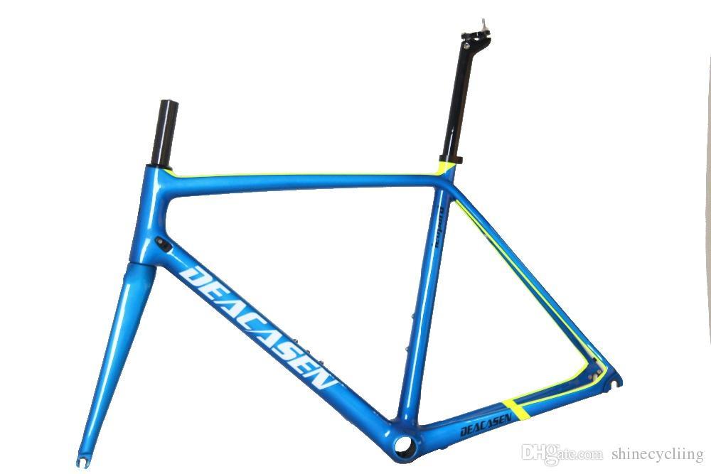 Raw Frame Weight 850+ 20g Light Racing Road Bike Frame Mechanical ...