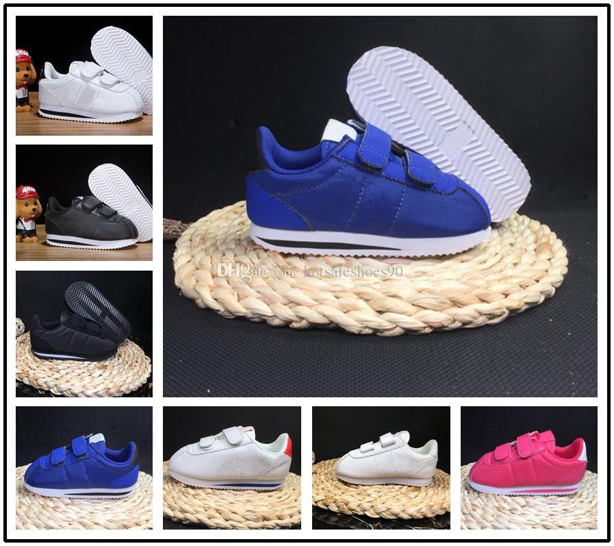 nike cortez 2018 Günstige Kinderschuhe Frühling Sport Lauf Mädchen Mode Turnschuhe Kinder atmungsaktiv Jungen Schuhe europäischen Schuhgröße