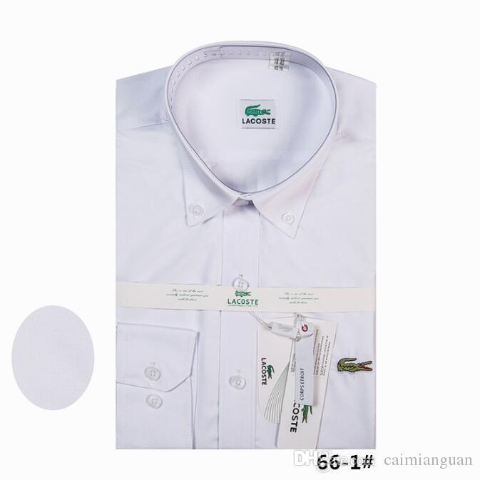 efd80cfa1ddad Satın Al 2018 Marka Erkek Iş Rahat Gömlek Mens Uzun Kollu Çizgili Slim Fit  Camisa Masculina Sosyal Erkek Gömlek Yeni Moda Gömlek # 4440, $29.95 |  DHgate.