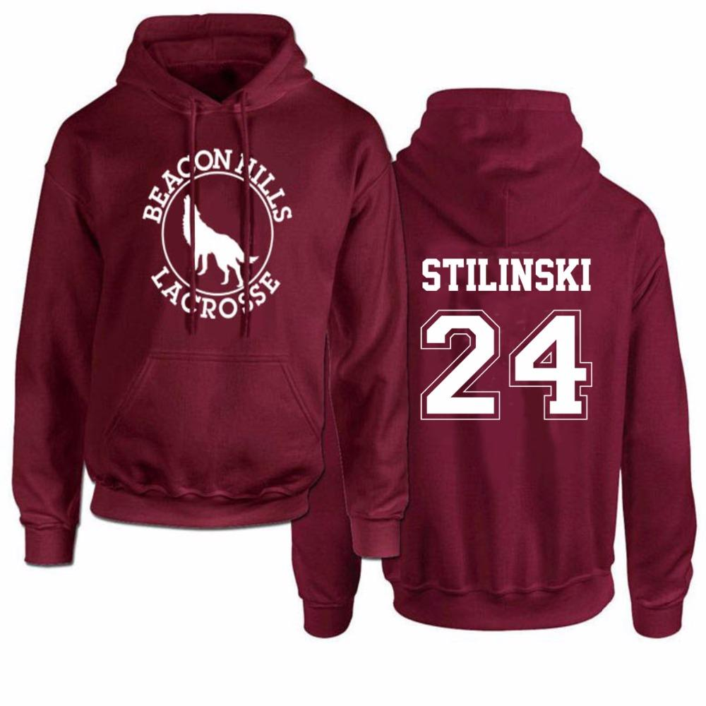 0b4a06c0e14a Compre Beacon Hills Lacrosse Teen Wolf Hombre Sudaderas Con Capucha Para  Mujer Dunbar McCall Stiles Stilinski Sudaderas Unisex Sudaderas Tamaño Euro  S 3XL A ...