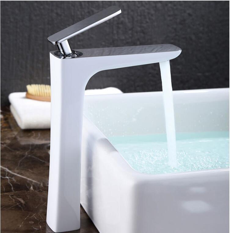 copper white and chrome brass faucet bathroom faucets single handle rh dhgate com