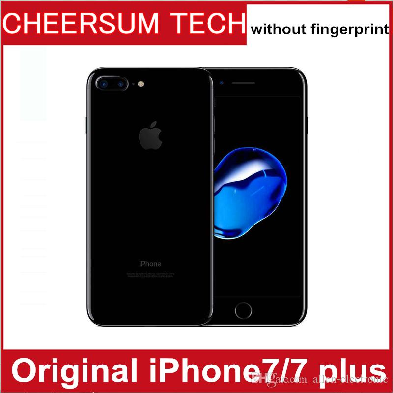 DHL Refurished iphone7 100% Original Apple iPhone 7/ 7 plus ios10 Quad Core 2GB RAM 32GB 128GB 256GB ROM 12.0MP 4K Video 4G Mobile phone