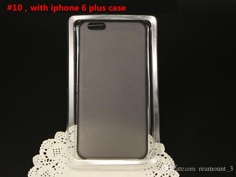 Custom Paper Kraft Paper Phone Case For Mobil Phone Black Cell Phone Case Packaging Box With Clear Window