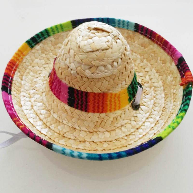 Compre 6 Unids Paja Natural Mini Sombrero Nuevo Diseño Sombrero Mexicano  Baby Shower Fiesta De Cumpleaños Decoración De Mesa Suministros Para Fiesta  A ... 68e0f1a0ef6