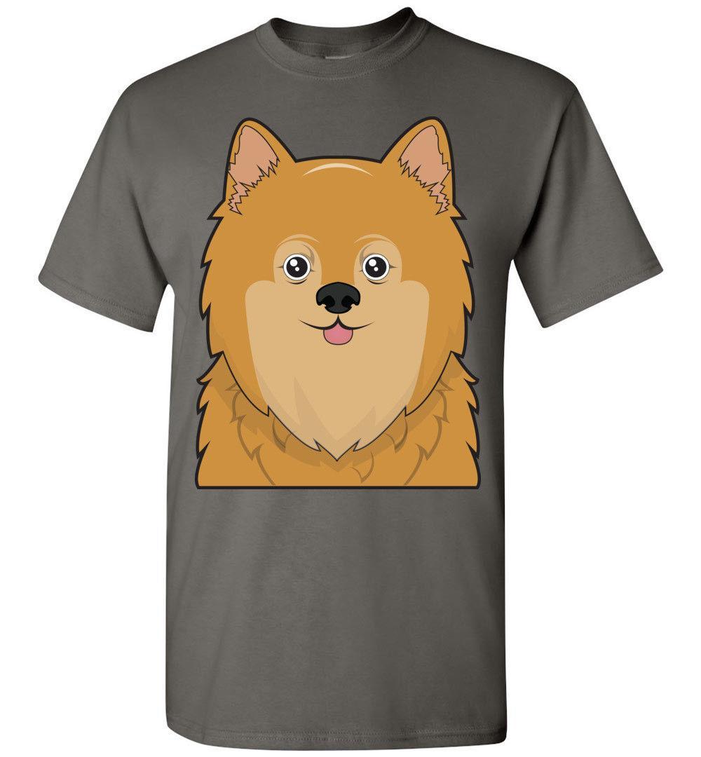 7bb0e31c9 Pomeranian Dog Cartoon T Shirt Tee Men Women Ladies Youth Kids Tank Long  Online Funky T Shirts Buy T Shirt Design From Vectorbomb, $11.01| DHgate.Com
