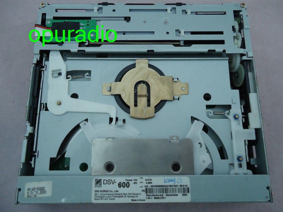 Original brannd new DVS Korea DVD loader DSV-600 DVS-600 Mechanism with PCB for Hyundai Meridian G08.2CD 24bit media car player