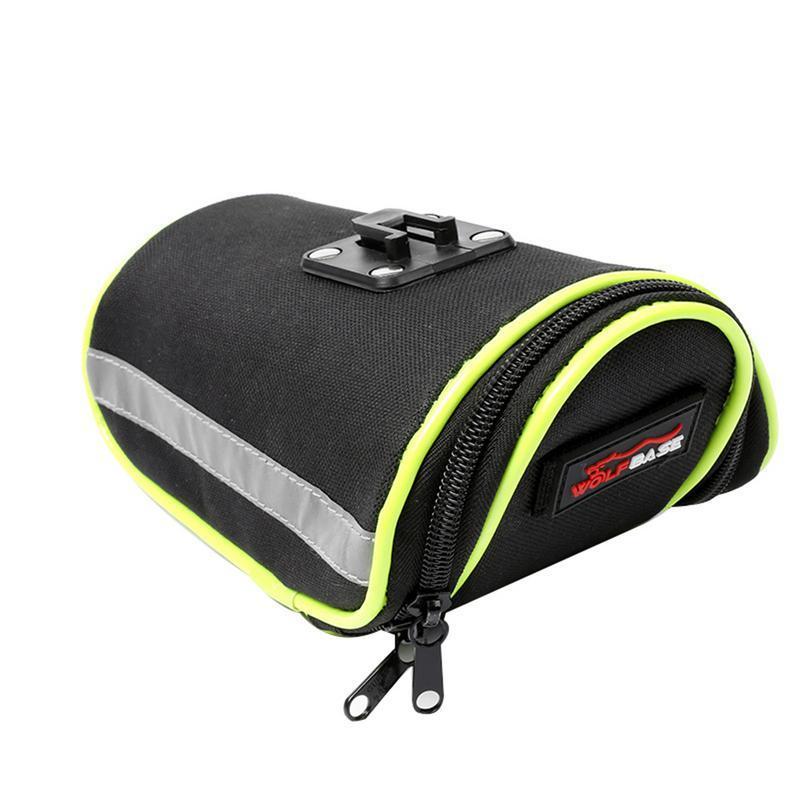 Outdoor Bicycle Tail Bag Road Bike Seat Cushion Kit Bicycle Rear Seat Tube Bag Saddle Waterproof Riding Equipment