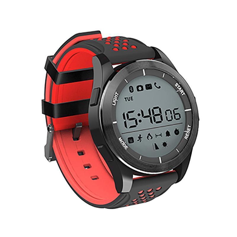 bf5eb237b62a Compre NUEVO Reloj De Los Hombres Smartwatch Frecuencia Cardíaca Cuenta  Paso Deportivo Reloj IP67 Mens Relojes Digitales A Prueba De Agua Para  Android IOS A ...