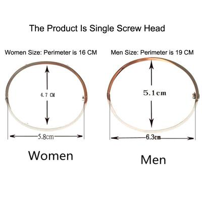 Love screw Bangles 316L Titanium steel Luxury brand with ten cz stone screwdriver bracelets for women men puleiras with OPP bag
