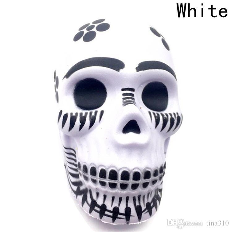 Langsame Erholung Skeleton Kopf Spielzeug Aprilscherz Streich Spielzeug Dekompression Spielzeug Home Decoration Kid Geschenk T3I0159