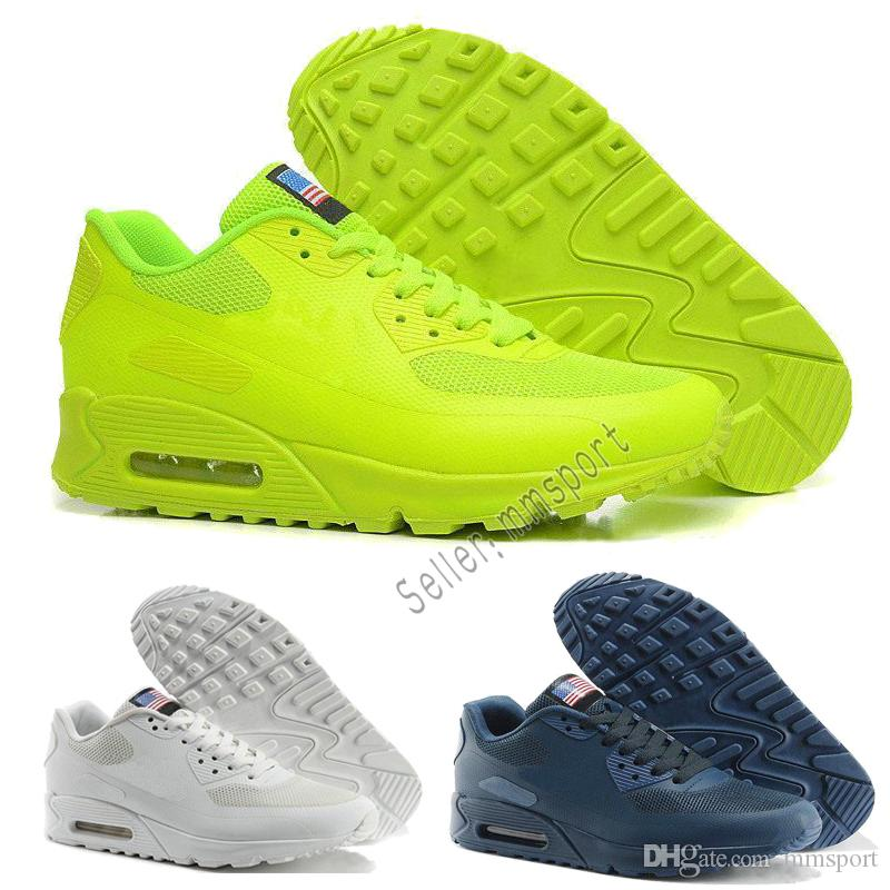 best service d1341 57439 Acheter Nike Air Max Airmax Vente Chaude Chaussures Hommes 90 Hyp Prm Qs  Chaussures De Course Vente En Ligne De Mode Indépendance Jour Zapatillas  Usa ...