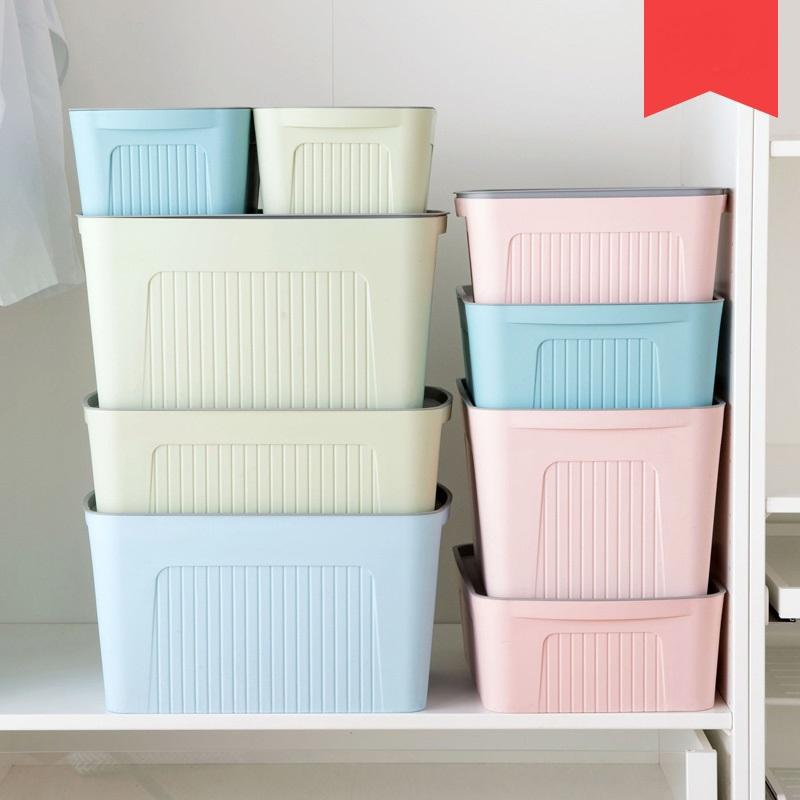 Best Large Covered Storage Box Wardrobe Storage Box Plastic Thickening  Clothing Toy Finishing Under $27.44 | Dhgate.Com