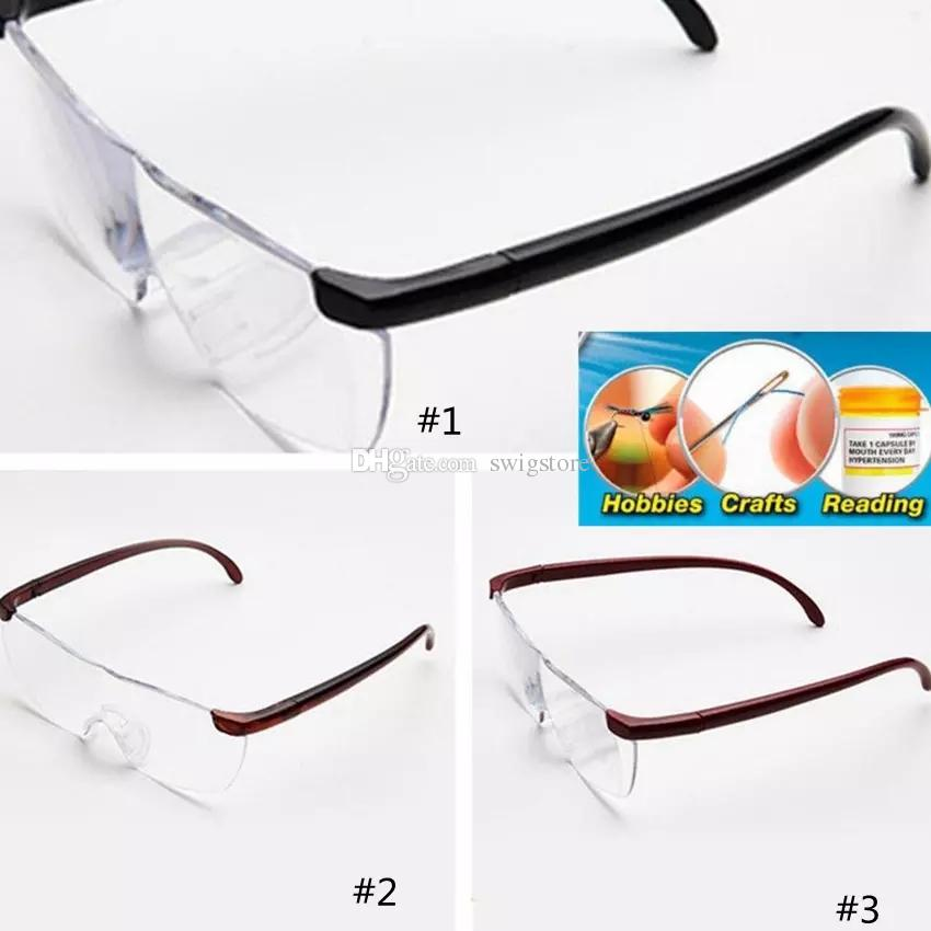 eca2c0be34ab Best Fashion Big Vision 250% Reading Glasses Men Women Frameless Magnifying  1.6 Times +250 Degrees Magnifies Glasses Wholesale Cheap Novelty Cheap  Novelty ...