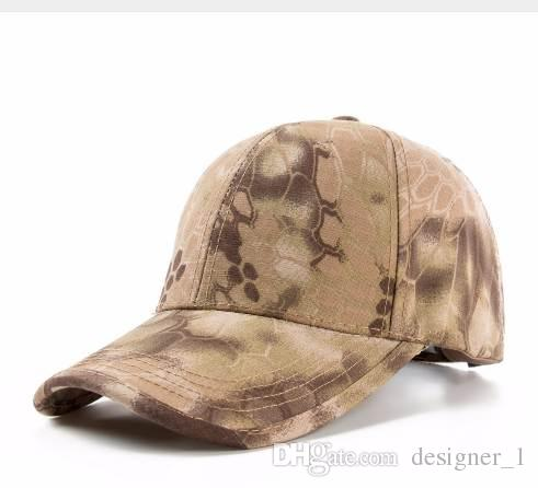 New High Quality Unisex Cap Men   Women Camouflage Tactical Baseball Cap  Army Cap Fashion Cobra Camo Snapback Hat Caps Cap Hat Flat Caps For Men  From ... 348fd379596