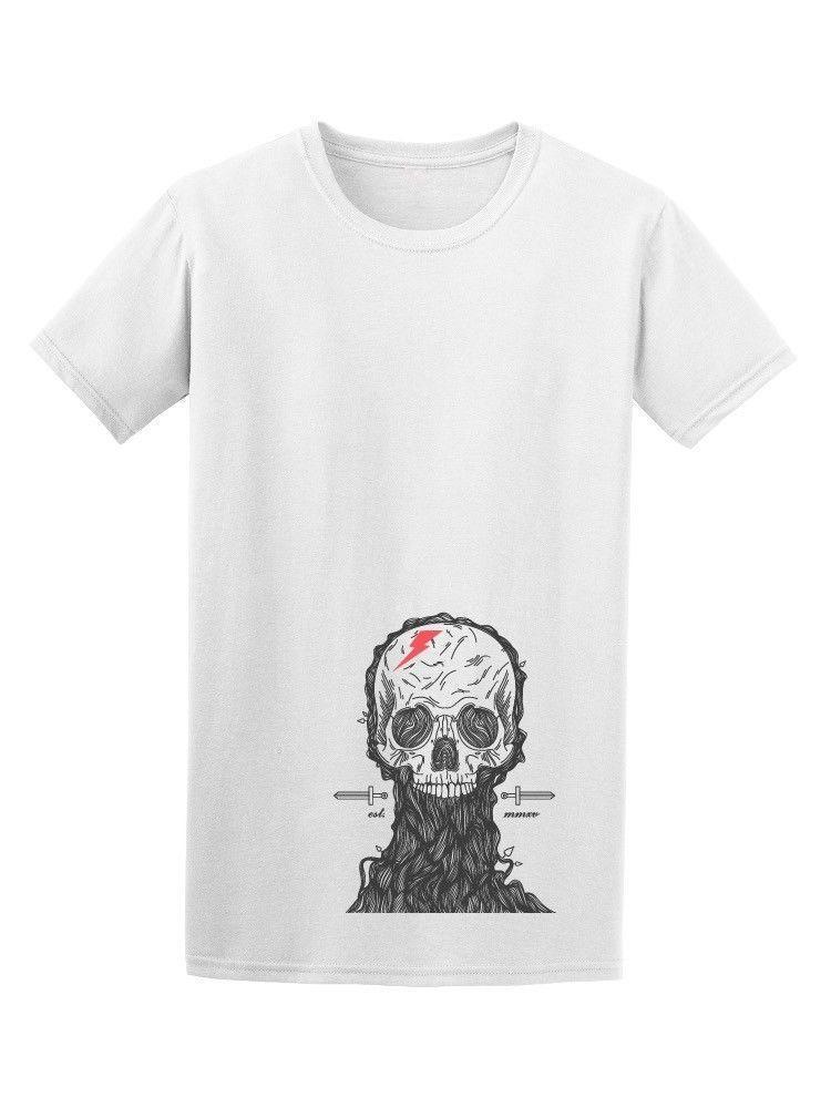finest selection 47268 c4692 Coole Hand Drawn Skull Sketch Männer T-Shirt - Bild von Shutterstock Neue  T-Shirts Unisex Lustige Tops T-Shirt Baumwolle Günstige Billig