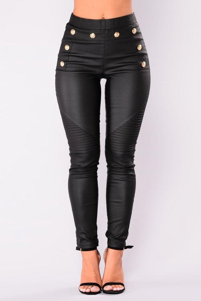 1dba9a21847b Women PU Pants Skinny Faux Leather Stretch High Waist Trousers Black Pants  New Fashion Style Women Clothes Online with $34.3/Piece on Caicaijin08's  Store ...