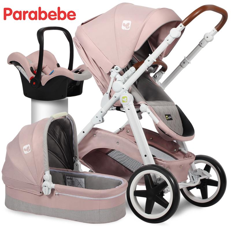 Eu Standard Baby Stroller 3 In 1 Carrycot Car Seat And Pushchair For 0 3 Years Old European Stroller Luxury Baby Car Carriage