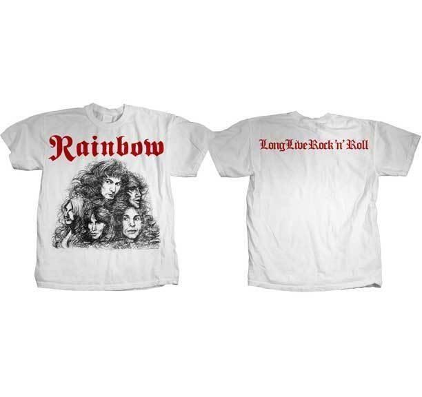 69c009ff7 RAINBOW Long Live Rock N Roll T SHIRT S M L XL Brand New Official T Shirt  Family T Shirts Printed Shirt From Yuxin10, $13.8| DHgate.Com