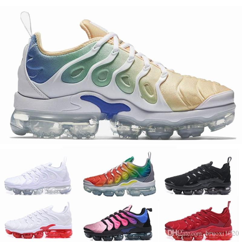2020 Sneaker TN Plus Running Shoes Men Women Sunset Triple
