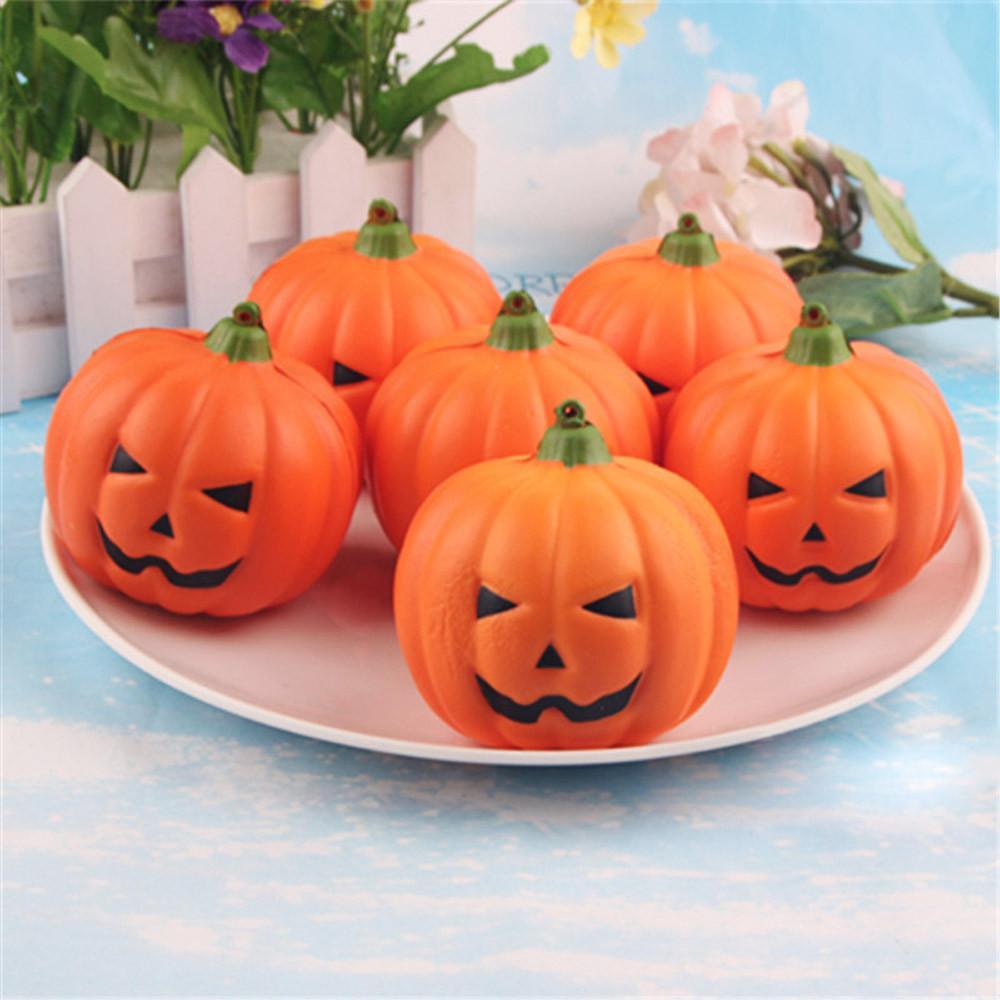 2017 NEUE Halloween Künstliche Kürbis Simulation Gefälschte Lebensechte Requisiten Garten Home party Decor Halloween Decor DIY Halloween Decor