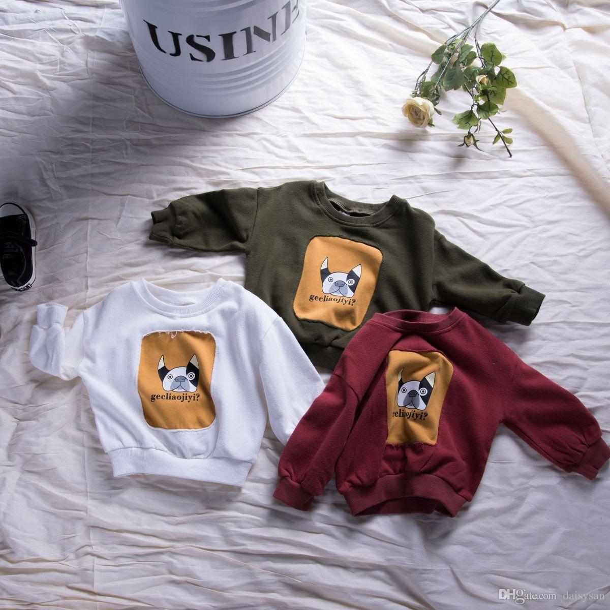 Großhandel Kinder Weihnachten Shirts Swearshirt Kleinkind Kinder ...