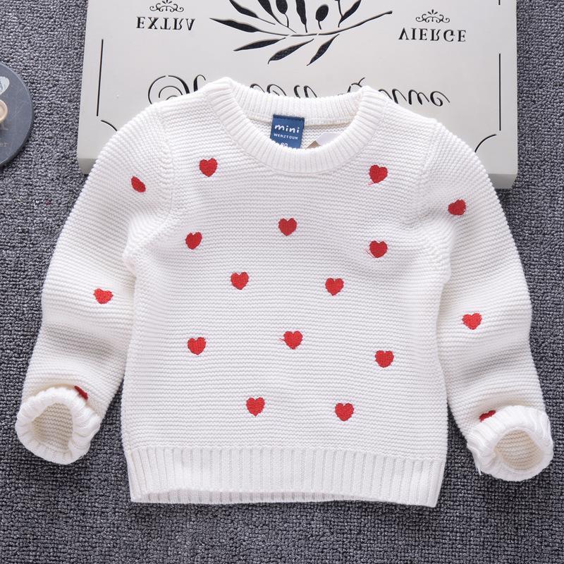 98c850507f217b Mädchen pullover 2018 Winter Casual Pullover für Kleinkinder Kinder  Kleidung Marke Design Kinder Baby Pullover Baumwolle Gestrickte Jungen Top