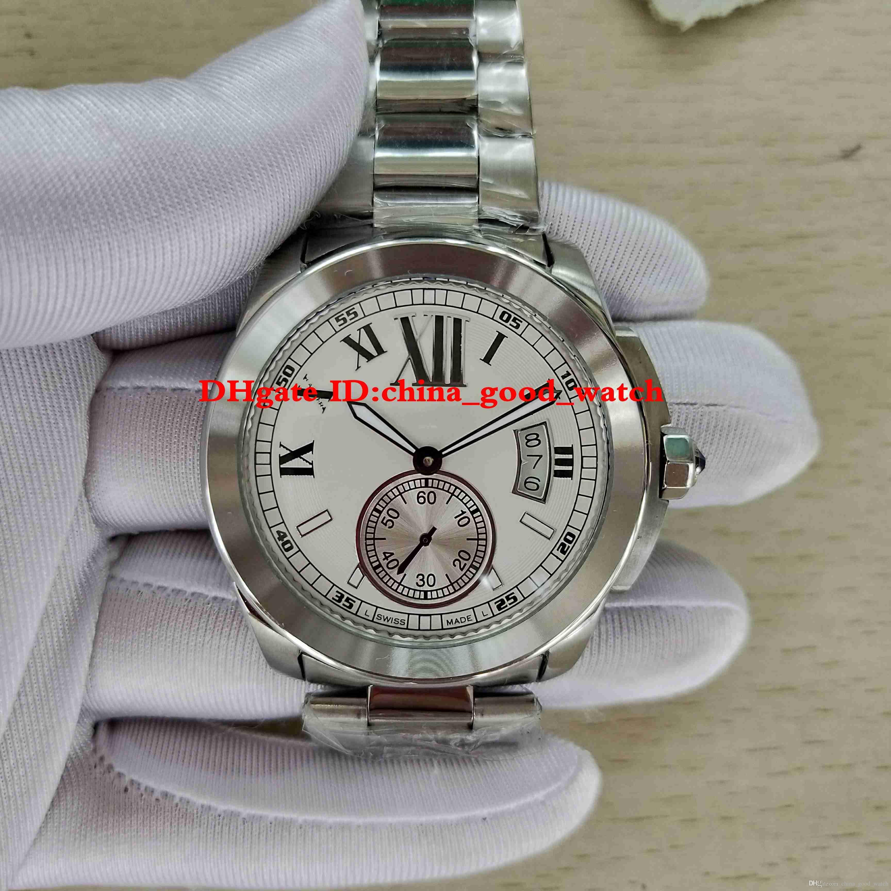 d32d56830b1 Compre Aaa +++ Relógio De Luxo Melhor Qualidade Wsca0003 De Cinta De Aço  Inoxidável Automático Fecho Dobrável Maquina Mens Relógios Relógios De  Pulso De ...
