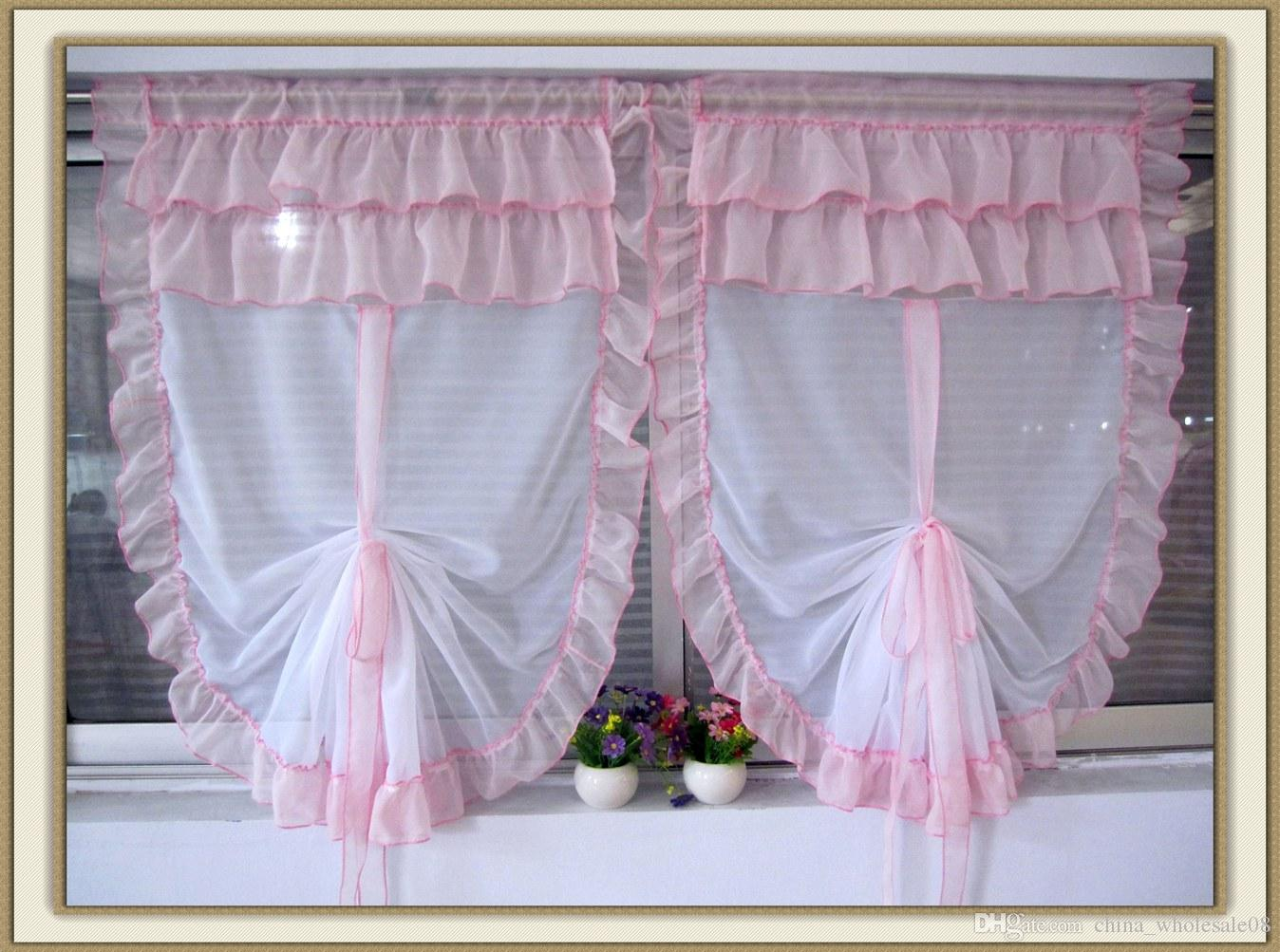Balloon Curtains Wiring Library 95 Yfm350er Moto 4 Diagram Hot Tulle For Bay Window Roman Curtain Blinds Embroidered Voile Sheer Flounced Kitchen