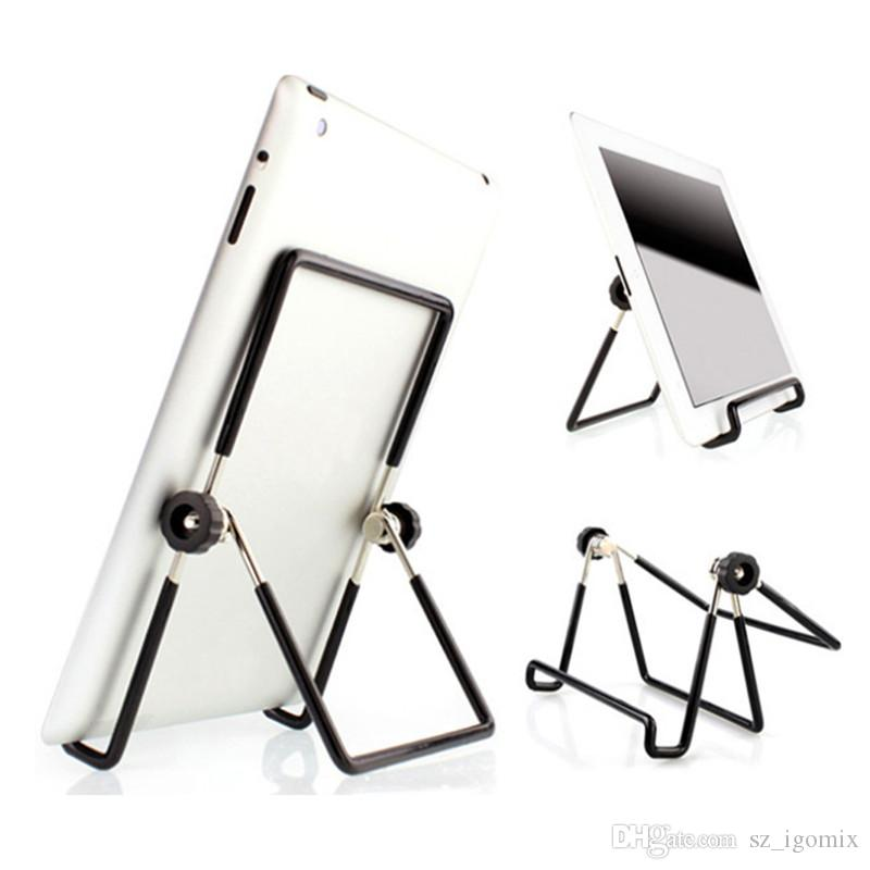 Metal 180 Degree Adjustable Foldable Tablet PC Stand Holder for Samsung Tab Pads iPad Tablet PC