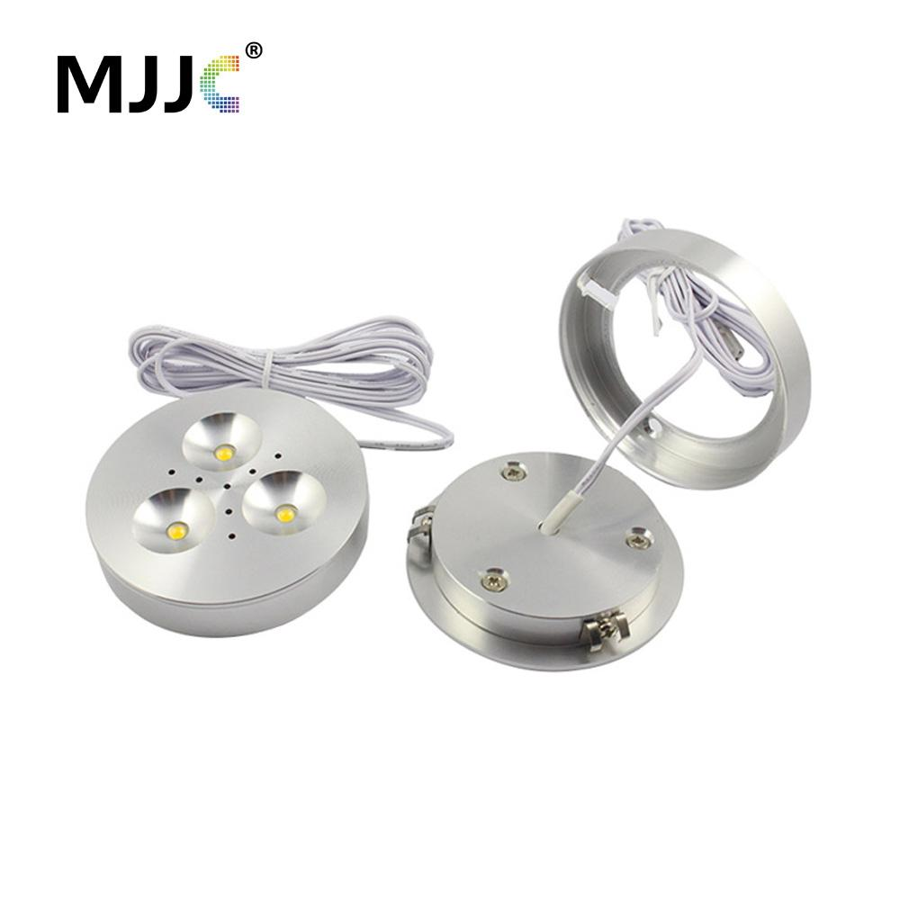 lighting warm with lights kit light premium white black puck led body