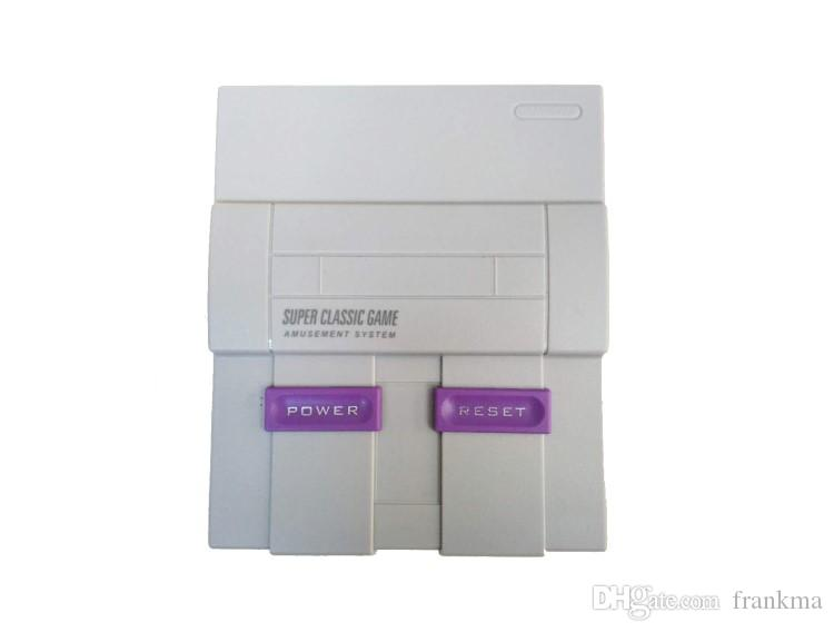 Updated Super NES Game Consoles SNES Classic Games Mini TV Video Handheld Retro Player NES For PAL NTSC OTH002 Sega With Retail Box