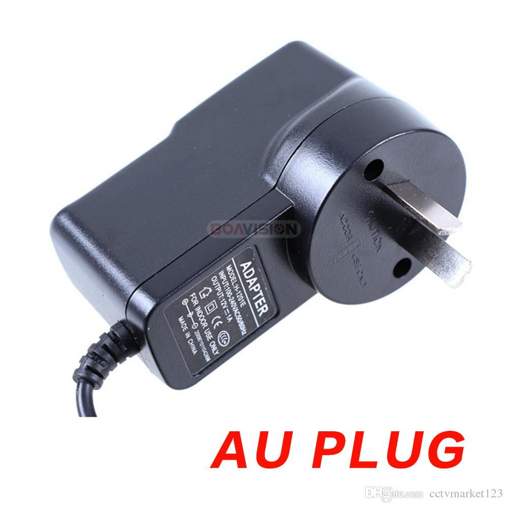 Qualified AC 110-240V To DC 12V 1A Power Supply Adapter For CCTV Camera System,EU/US/UK/AU Plug