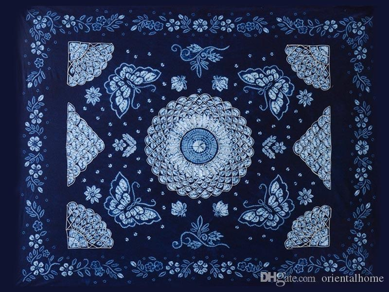 100% Handmade Batik Art Pure Cotton Bed Sheet Spread Linen Bedding   King  #128 Bedspreads Linen Bed Linen Home Furnishing Online With $78.0/Piece On  ...