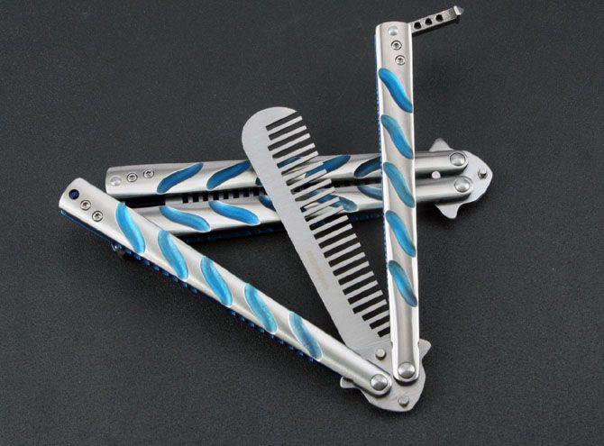 BM40 comb Training wholesaler CS karambit Butterfly Knife Folding pocket knife sharp blade knives tool camping gift knife