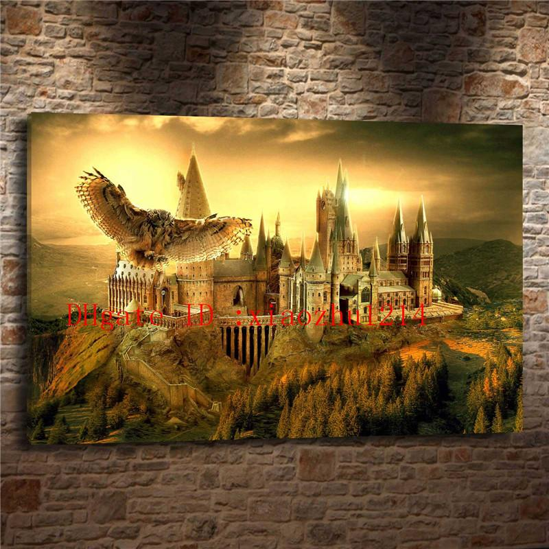 Compre Harry Potter Hogwarts, Decoración Para El Hogar Hd Impreso ...