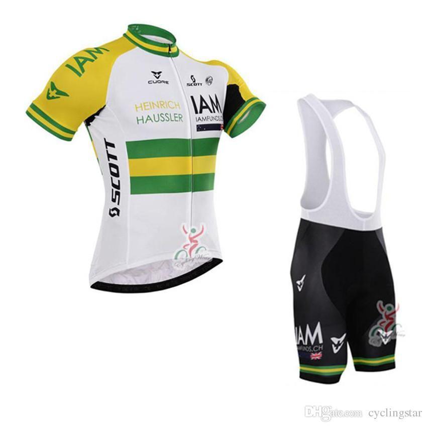 2017 IAM Cycling Jerseys Short Sleeve Shirt+cycling Bib Shorts Sets ... fc4cb4348