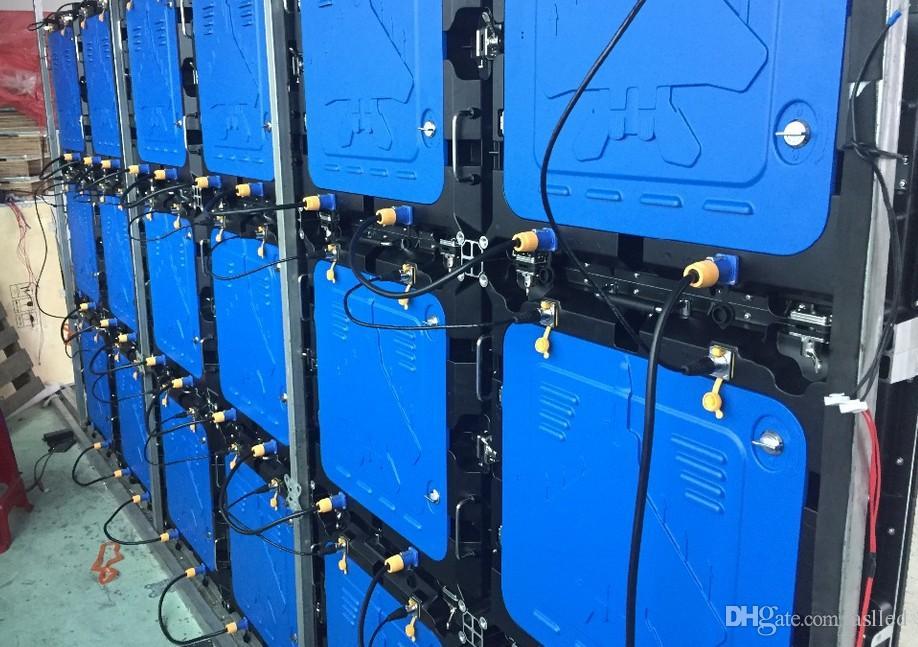 P5 RGB 실내 LED 패널, 640X640mm 다이 캐스트 알루미늄 캐비닛, SMD2121 1/8 스캔, 풀 컬러 LED 디스플레이 스크린, LED 비디오 벽