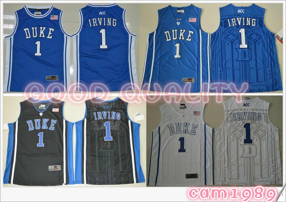 new products 04d5d aaaaf Großhandel 2018 Duke Blue Devils   1 Kyrie Irving Basketball Trikots Herren  American College Stitched Stickerei Sport Basketball Shirts Von Cam1989, ...