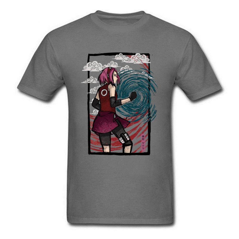 Compre Fuerza Femenina Naruto Sakura Camiseta Hombre Camiseta Mujer Anime  Ropa Vintage Japón Estilo Tops Ninja Camiseta Algodón Tee A  12.61 Del  Tshirtsshop ... 0e97bd72b0d12